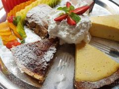 Apple Strudel, Pecan Pie, Key Lime Pie, New York-Style Cheesecake, Chocolate Mousse Cake